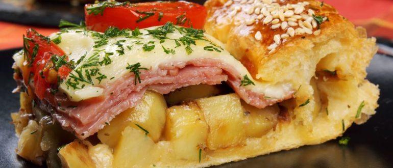 Хватит считать калории и хоть раз поешьте по-нормальному! Супер пирог с картошкой
